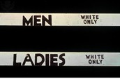 Segregation White Only