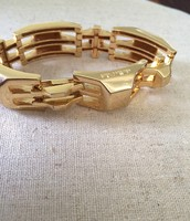 Luxor Link bracelet in gold