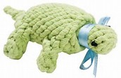 Turtle Rope Dog Toy