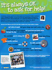it's always okay to ask for help poster