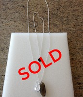 Trinity Pendant, Silver - $40