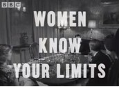 """Sketch """"Women know your limits"""""""