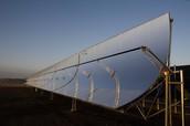 Solar UV Parabolic Reflector