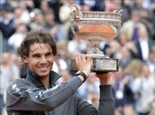 "Rafa is the second professional wich more awards ""big"""