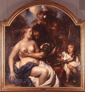 Mars and Venus by Jan Lievens in 1653
