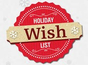 Holiday Reading Wishlist Recommendations