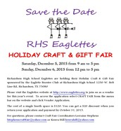 RHS Eaglettes Holiday Craft Fair