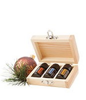 Holiday Essential Oils Gift Box Trio