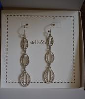 Kimberly Drop Earrings (silver)