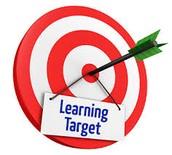Week 29 Learning Targets