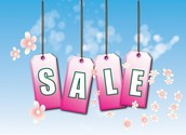 TODAY is the last day of our SPRING SALE!!!