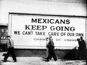 Treatment of Mexican Americans during this time period