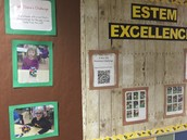 E-STEM in action!  Check out the bulletin board near main office
