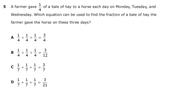 Released Question TEKS 3.3D