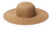 Wide-brimmed summer hat $38