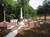 Center of Guilford County Veterans Memorial