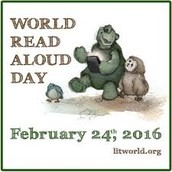 World Read Aloud Day, February 24th