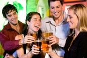 If you drink too much it will affect your Immune system