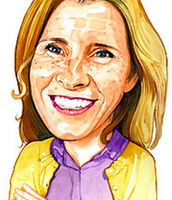 A drawing of my mom in the MakeitBetter magazine