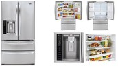 LG French Door w/ Drink cabinet and Slide Freezer $2,479.99