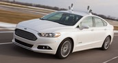 ford fusion automated car