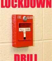 September 23 - Lock Down Drill