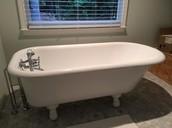 Beautiful restored Claw-foot Tub