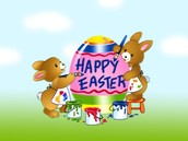 No Thursday Meeting this week (only GT)!  Happy Easter Surprise!