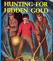 The Hardy Boys hunting for hidden gold