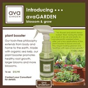 avaGarden plan booster