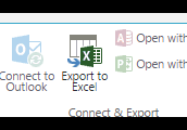 Exporting to Excel Offers Options