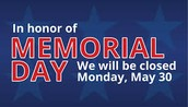 Monday, May 30