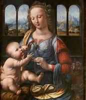 La Virgen del clavel.