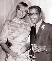 Sammy Davis Jr and May Britt