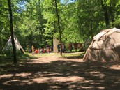 This is a wigwam and a tepee.