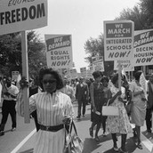 the civil rights movement (60s)