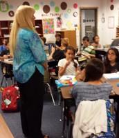 We love our student teacher, Caran  Eldridge.