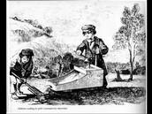 children cradleing for goldfeilds