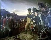 The Surrender at Yorktown,VA Oct.19,1781
