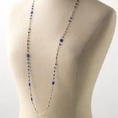Millie Lapis Gold Necklace $35.00