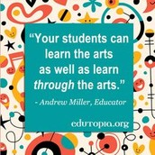 Including arts helps students to Elaborate and Embed the information
