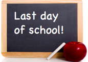 Last Day of School - June 8