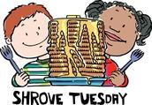 Shrove Tuesday or Pancake Day