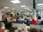 IBM Madrid - kantorentuin