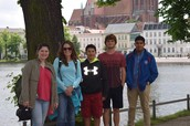 CHS Students in Germany