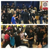 Thanks to the Burnet MS band for performing with our Pillow 5th graders!