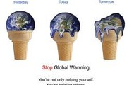 stop the global warming!