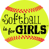 Girls can play softball