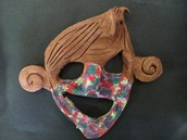 Clay Animal Masks
