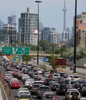 Traffic to Toronto